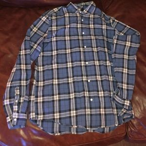 EUC Sz L H&M plaid button down